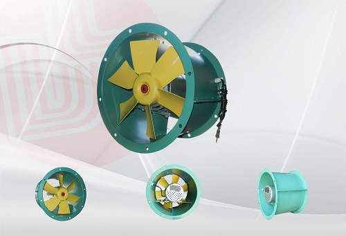 Wall mounted fans, ceiling T4 / 6/400 / K13